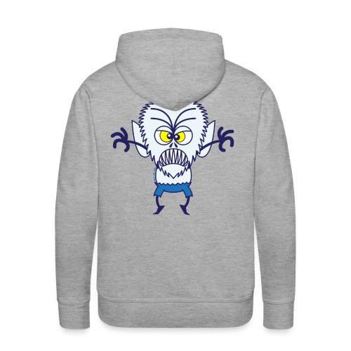 Scary Halloween Werewolf Hoodies & Sweatshirts - Men's Premium Hoodie