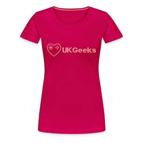 Love UKGeeks - Women's Premium T-Shirt