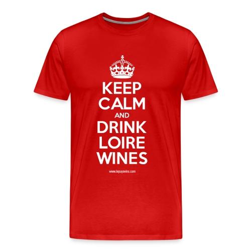 Keep Calm by Le Puy à Vins - T-shirt Premium Homme