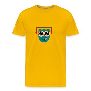 Eule Soundbox - Männer Premium T-Shirt