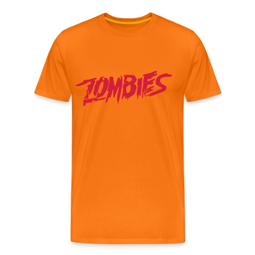 ZOMBIES- College of the Dead - Men's Premium T-Shirt