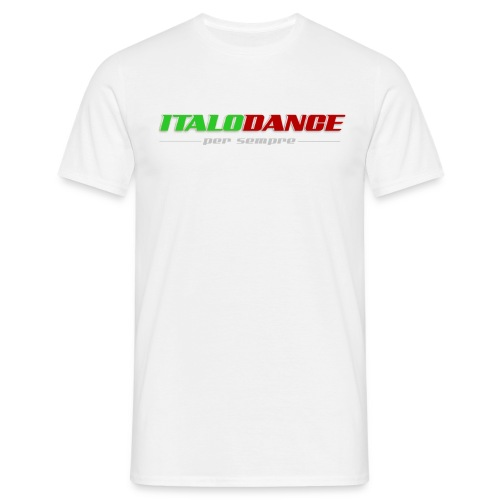 ITALODANCE per sempre T-shirt - Men's T-Shirt