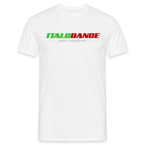 ITALODANCE per sempre T-shirt - Men's T-Shirt