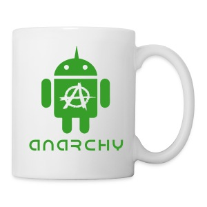 ANARCHY DROID GREEN VECTOR Mug - Tasse