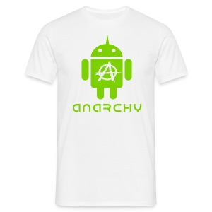 ANARCHY DROID T-Shirt - Männer T-Shirt
