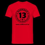 T-Shirts ~ Männer T-Shirt ~ Simples Shirt für Sudhaus-13-Freunde (mit URL)