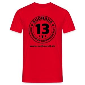 Simples Shirt für Sudhaus-13-Freunde (mit URL) - Männer T-Shirt