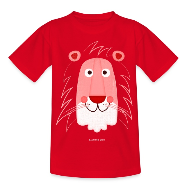 Lion Face Kids T