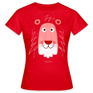 Women's Lion Face T-Shirt - Women's T-Shirt