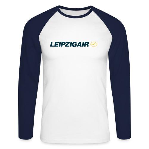 LHA Shirt großes Logo - Männer Baseballshirt langarm