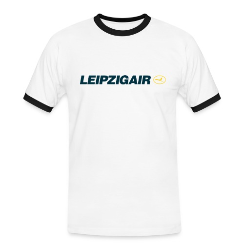 LHA Shirt großes Logo - Männer Kontrast-T-Shirt