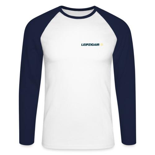 LHA Shirt kleines Logo - Männer Baseballshirt langarm