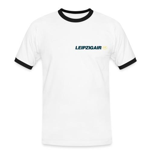 LHA Shirt kleines Logo - Männer Kontrast-T-Shirt