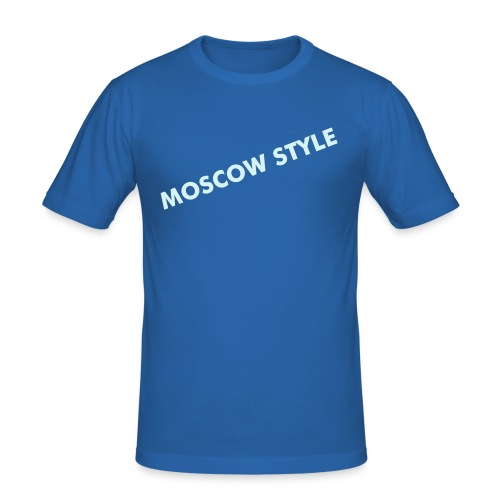 MOSCOW STYLE - Männer Slim Fit T-Shirt