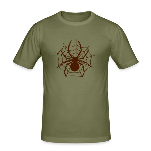 Spider and Webb - Men's Slim Fit T-Shirt