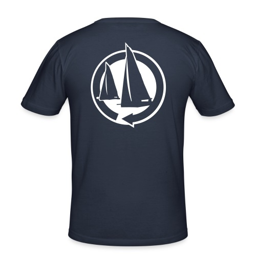 Marin - T-shirt près du corps Homme