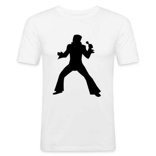 elvis tee - Men's Slim Fit T-Shirt
