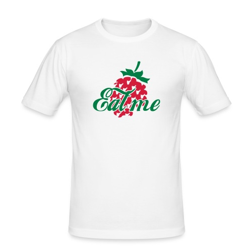 T-Shirt EAT ME - Männer Slim Fit T-Shirt