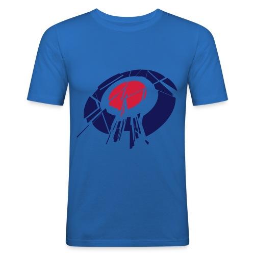 Target | Blue - Men's Slim Fit T-Shirt