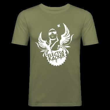 Olive electro rocker Men's T-Shirts