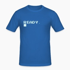 Royal blue Ready. T-Shirts