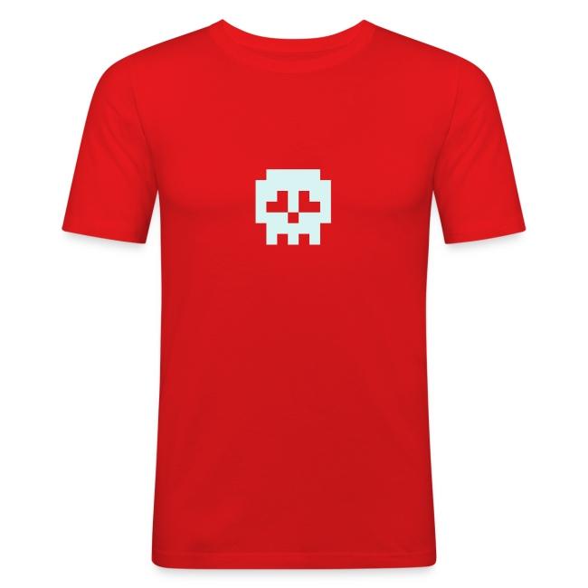 Slim Fit Retro Skull Clubbing Shirt (reflective)