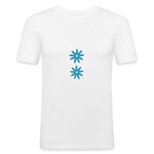 Ekstra lett melk - Slim Fit T-skjorte for menn