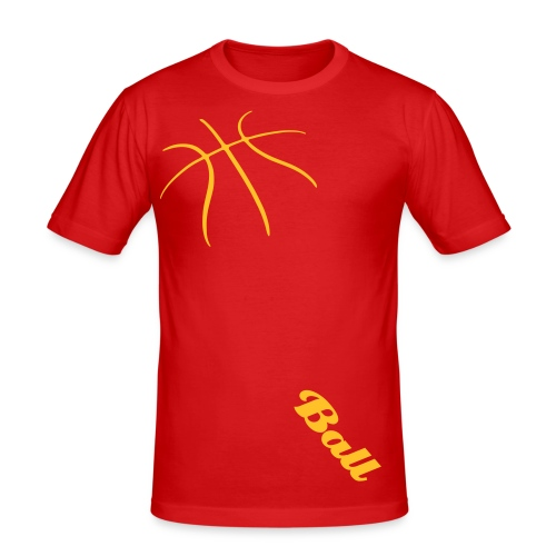 Ball and Ball - T-shirt près du corps Homme