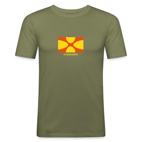 Floranien Shirt - Männer Slim Fit T-Shirt
