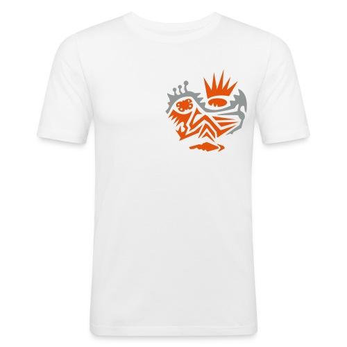 Skull Tribal 3 Shirt - Männer Slim Fit T-Shirt