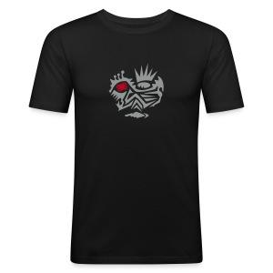 Skull Tribal 2 Shirt - Männer Slim Fit T-Shirt