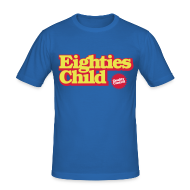 T-shirts ~ slim fit T-shirt ~ Eighties Child