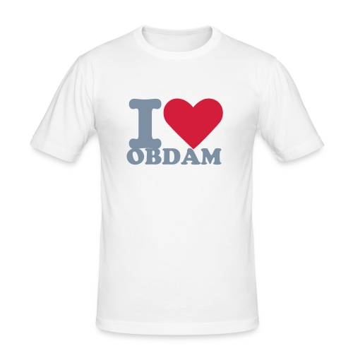 Obdam shirt - Men's Slim Fit T-Shirt