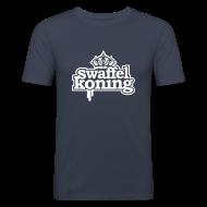 T-shirts ~ slim fit T-shirt ~ SwaffelKoning (seen @ Spuiten & Slikken BNN)