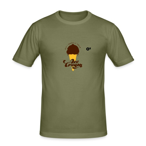 Ice cream - T-shirt près du corps Homme