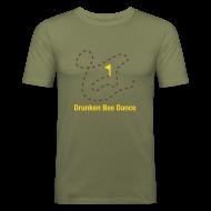 T-Shirts ~ Männer Slim Fit T-Shirt ~ Drunken Bee Dance - Boys Shirt
