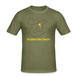 Drunken Bee Dance - Boys Shirt - Männer Slim Fit T-Shirt