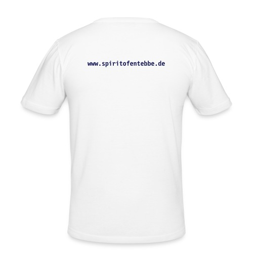 T-Shirt Operation Thunderbolt white - Männer Slim Fit T-Shirt