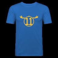 T-Shirts ~ Männer Slim Fit T-Shirt ~ SVIRIGE 11 (AWAY)