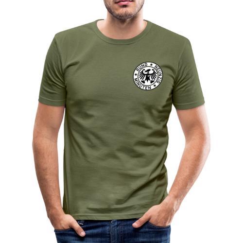 Rund 90 Minuten (weiss) - Männer Slim Fit T-Shirt