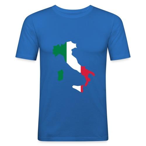 Italie - T-shirt près du corps Homme