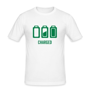 Charged - Männer Slim Fit T-Shirt
