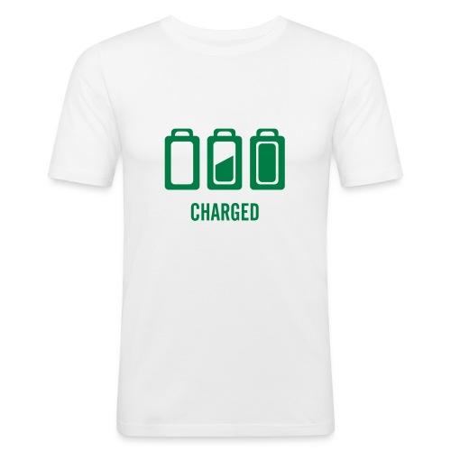 Charged - Männer Slim Fit T-Shirt