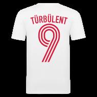 T-Shirts ~ Männer Slim Fit T-Shirt ~ TÜRBÜLENT 10 (Away)
