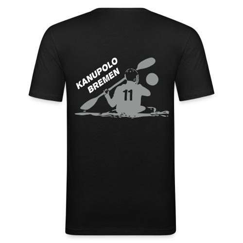 Schwarzes T-Shirt - Männer Slim Fit T-Shirt