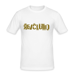 REVOLUTIO (Gold) - Männer Slim Fit T-Shirt