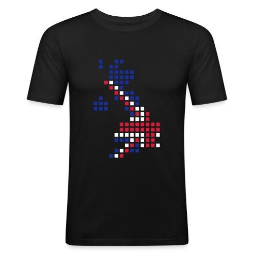UK Pixel - T-shirt près du corps Homme