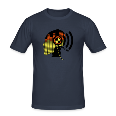 Dark Navy sound test dummy - electro T-Shirt