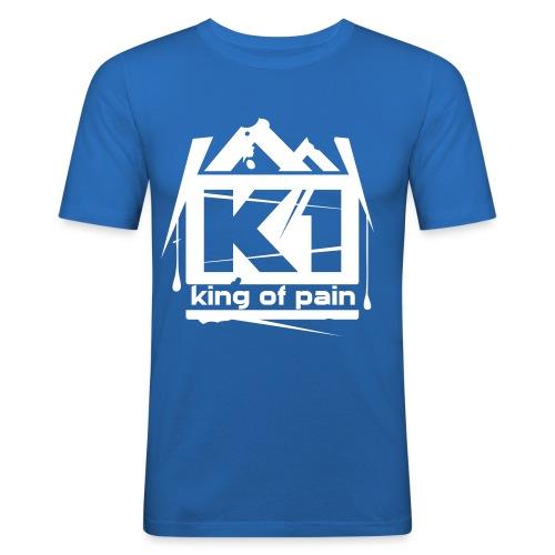 King of pain (Blue, SlimFit) - slim fit T-shirt