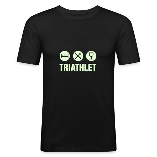 TRIATHLET - NIGHTGLOW - Männer Slim Fit T-Shirt
